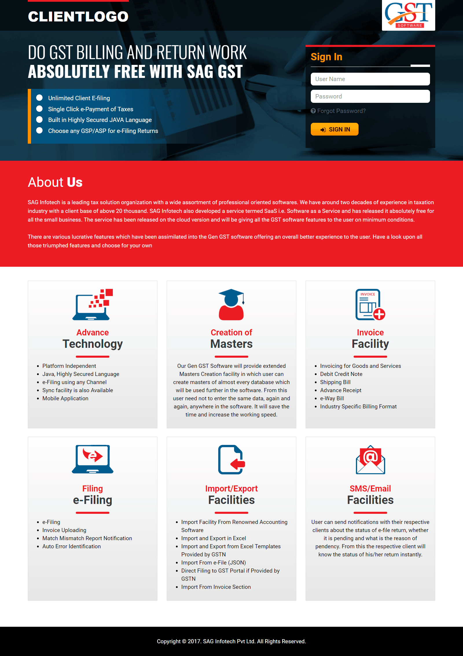 SAG GST: Free GST Online Software for Helping Small Businesses